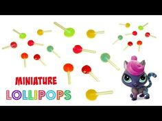 how to: miniature lollipops