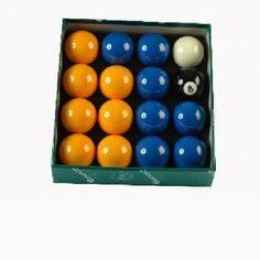 Billes de Billard Jeu Anglais aramith 57mm Bleu, Jaune - 60,50 €  #Jeux