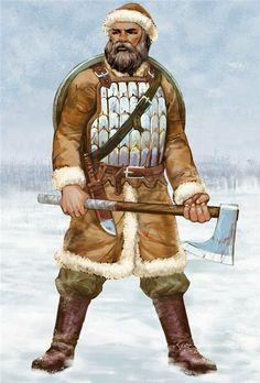 Come at me brah! xD medieval Rus lamellar 10-11 century