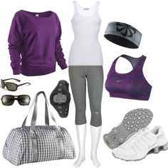 A cute workout outfit always helps me to be motivated about working out Cute Workout Outfits, Workout Attire, Sporty Outfits, Athletic Outfits, Athletic Wear, Workout Wear, Cute Outfits, Workout Style, Workout Tanks