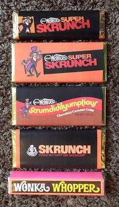 Custom Willy Wonka Chocolate Candy Bars Skrunch | Gregg Koenig | Flickr