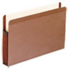 Desk Supplies>Desk Set / Conference Room Set>Holders> Files & Letter holders: Premium Reinforced Expanding File Pockets, Straight Cut, Legal, Red, 10/Box