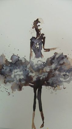 By Meow Watinee Paleebut : esty l com Illustration Sketches, Watercolor Illustration, Illustrations, Fashion Painting, Fashion Art, Fashion Design, Silhouette Mode, Fashion Figures, Mode Inspiration
