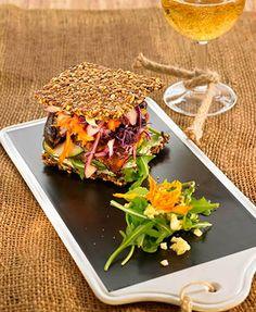 Sandwich Amor + Hummus mágico