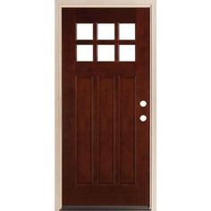 """This is the door to replace my front door. It has a really great craftsman feel and would be just the thing to raise my entrance to the """"aha"""" level."""