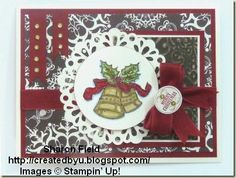 The Paper Craft Crew Challenge Sketch!   Beautiful Christmas Bells.
