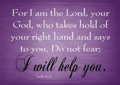 Reassurance...