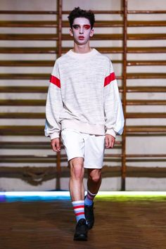 Gosha Rubchinskiy Menswear Spring Summer 2016 Paris - NOWFASHION