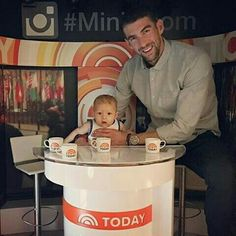 Boomer and Michael Phelps