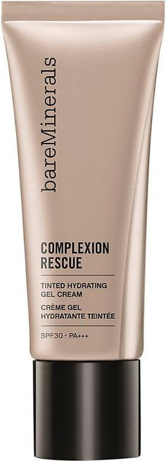 Bare Minerals Complexion Rescue Tinted Hydrating Gel Cream 35ml is a multi tasking genius that combines skincare benefits and naturally radiant coverage in one. My holy grail tinted moisturizer.