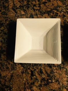 White 6.5 Inch Square Bowls by Model (2 bowls). Dining. #Modle
