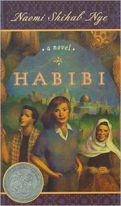 Habibi, the award winning book for older readers by Naomi Shihab Nye - 2000 Book Awards
