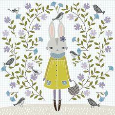 Winter Bunny - Flora Waycott / Oopsy Daisy