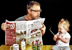Is Dave Engledow the world's best father? The hilarious photo collection featuring Engledow and his young daughter, Alice Bee, in a series of precarious situations might suggest the exact opposite.