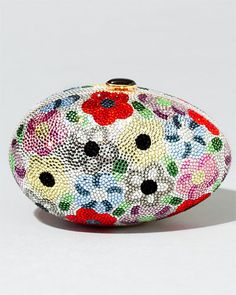 Beaded egg clutch by Judith Leiber