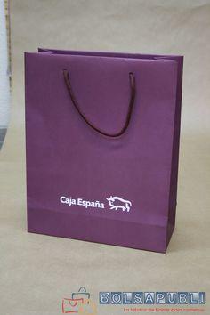 Bolsas de lujo con cordón de algodón