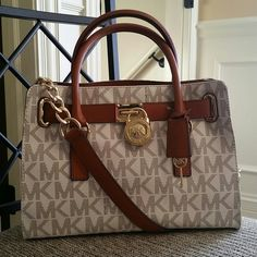 NWT Michael Kors Hamilton New with tags MK hamilton vanilla ew satchel! Such a beauty! Original price $298   tax . Sorry ladies, no trades! Michael Kors Bags Satchels