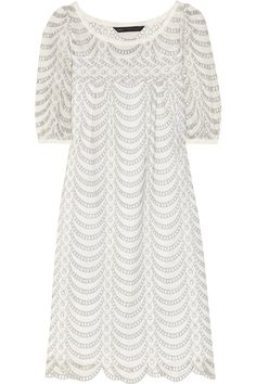 Marc by Marc Jacobs | Edith broderie anglaise cotton dress | NET-A-PORTER.COM
