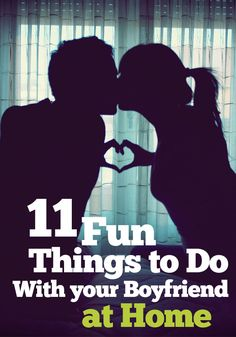 Are you looking for some fun things to do with your boyfriend at home? If so, take a look through the list below to find some original ideas. You don't need to break the bank when you have a boyfriend and you never have to get bored when spending your eve Things To Do At Home, Things To Do When Bored, Stuff To Do, Fun Things, Things To Do Tonight, Men Stuff, Things To Do With Your Boyfriend, My Boyfriend, Boyfriend Ideas
