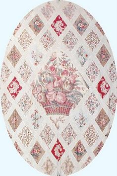 jane austen's quilt--we saw it in her house in Chawton!  Jane, Cassandra and their mom made it.