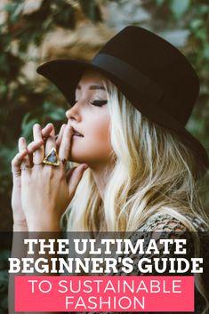 A Beginner's Guide to Sustainable Fashion - Kale & Cotton Fashion Moda, Fast Fashion, Slow Fashion, Ethical Fashion, Women's Fashion, Ethical Clothing, Woman Clothing, Fashion Boots, Fashion Outfits