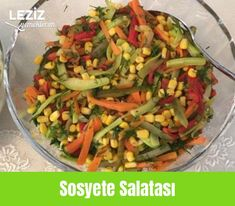 Sosyete Salatası – Leziz Yemeklerim Vejeteryan yemek tarifleri – The Most Practical and Easy Recipes Bbq Pitmasters, Smoking Meat, High Society, Diet And Nutrition, Green Beans, Salad Recipes, Easy Meals, Food And Drink, Yummy Food