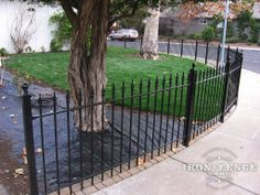 Residential Iron Fences, Custom Fence Finials, Fence Panels
