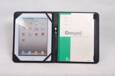 leather iPad case and leather portfolio for by HomemadeLeather, $69.90