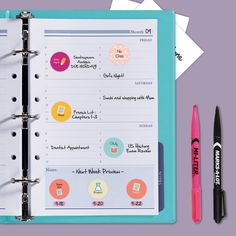 Save a bundle by creating your own planner stickers! Avery has a ton of free printables so you can design your own personalized stickers and print them using Avery Labels and free designs and templates from Avery Design & Print Online.