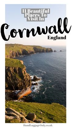 Places To Visit On The The Coast Of Cornwall, England Let's be frank, charming seaside trips are amazing. I mean, at the first sight of sunshine (or dry even dry weather for that matter) us Brits rush to the sea. It's in our blood! Cornwall England, Devon And Cornwall, England Uk, Oxford England, Yorkshire England, Yorkshire Dales, London England, Travel England, Visit England