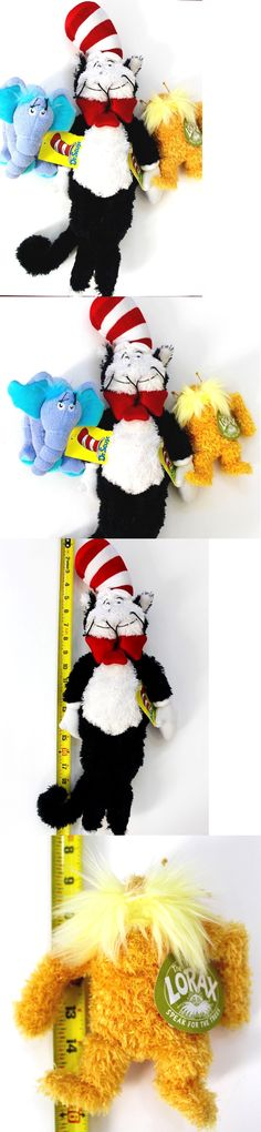 bec619ca Dr Seuss 20906: Dr. Seuss Horton, Lorax And Large Cat In The Hat Plush Toys  Set Of 3 Nwt -> BUY IT NOW ONLY: $54.99 on eBay!