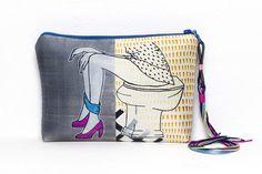 Pochette by Marta Fofi woman borsa di stoffa di Martafofiartworks