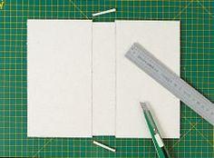 Technique utilisée: la technique 2A (voir fiche Méthode de travail) Cardboard Crafts, Paper Crafts, Crafting, Scrapbooking, Album, Books, Crates, Book Binding, Note Cards