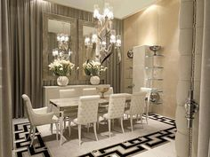 Marvelous Glamorous Dining Room | Modern Home!! | Pinterest | Room, Dining Room  Design And House