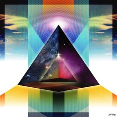 ∆ : Inward Traveler - Jetters Visions / Jetters Visions / Jetter Green /  / Sacred Geometry <3