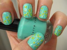Sea Foam Nails