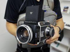 tokyo camera style - Totem Pole Photo Gallery, Shinjuku Rolleiflex SL66