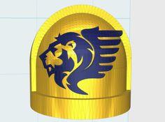 Winged Lions  - Standard Shoulder x10 by matt_sweitzer
