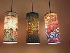 Hi-light graffiti pendants by Re-Surface