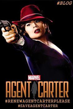 Save Agent Carter Please! - #SAVEAGENTCARTER &/or #RENEWAGENTCARTERPLEASE