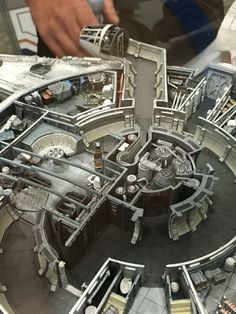 I'm probably not alone in saying I was always curious what else was in the Millennium Falcon. We saw the cockpit, the large hangout area, some hallways and guns, but what else is there? A new collectable revealed at Comic-Con shows exactly that.