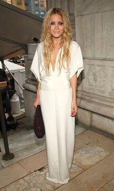 13 wedding dress ideas from the Olsen twins. #bridalgowns #weddinginspiration #marykateandashley