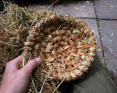 Making a basic coild basket- jonsbushcraft.com
