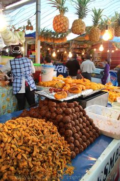 Ecuadorian street food