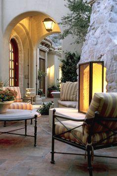 Providence Ltd Design - David MichaelMiller,  Beautiful porch area
