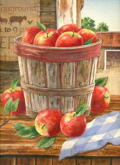 """Orchard Basket"" by Maureen McCarthy"