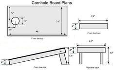 Corn Hole Boards - by Greg, B. @ LumberJocks.com ~ woodworking community
