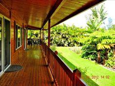 Wrap around Lanai with Tropical Garden.