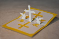 Christian Cross Pop Up Card | Creative Pop Up Cards