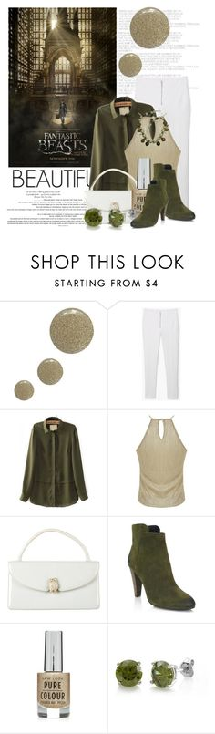 """""""Fantastic Beast....I'm excited about this movie too"""" by queenrachietemplateaddict ❤ liked on Polyvore featuring Topshop, MANGO, Miss Selfridge, Judith Leiber, Elie Tahari and BERRICLE"""